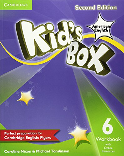 9781107433595: Kid's Box American English Level 6 Workbook with Online Resources