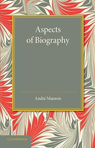 9781107437586: Aspects of Biography
