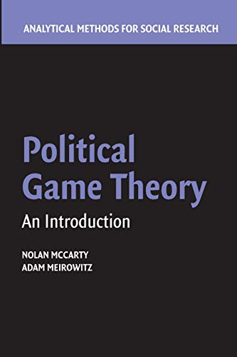 9781107438637: Political Game Theory: An Introduction