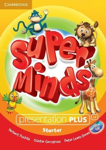 Super Minds Starter Presentation Plus DVD-ROM: Herbert Puchta, Günter Gerngross, Peter Lewis-Jones