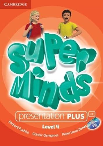 Super Minds Level 4 Presentation Plus Dvd-rom (DVD-Video): Herbert Puchta