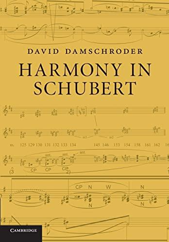 Harmony in Schubert: Damschroder, David