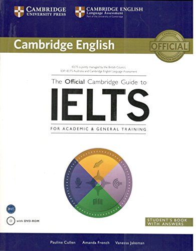 9781107442771: The Official Cambridge Guide to IELTS Students Book with Answers with DVD ROM [Paperback] Pauline Cullen