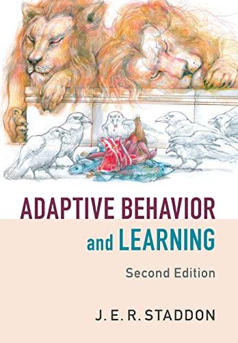 9781107442900: Adaptive Behavior and Learning