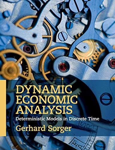 9781107443792: Dynamic Economic Analysis: Deterministic Models in Discrete Time