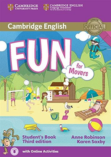 Fun for Movers Student's Book with Audio: Saxby, Karen, Robinson,