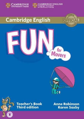 9781107444805: Fun for Starters, Movers and Flyers. Movers. Teacher's Book. Con File audio per il download