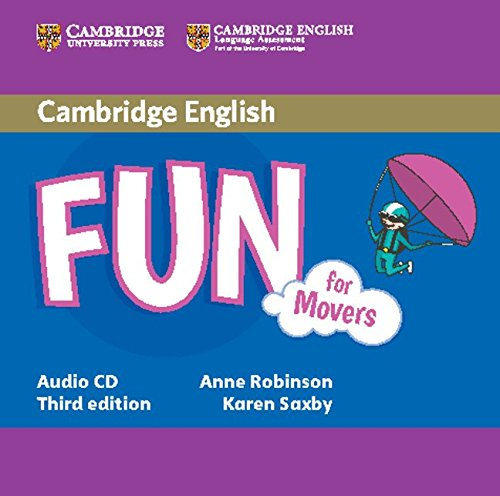 Fun for Movers Audio CD: Saxby, Karen, Robinson,
