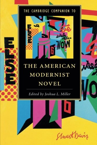 9781107445895: The Cambridge Companion to the American Modernist Novel (Cambridge Companions to Literature)