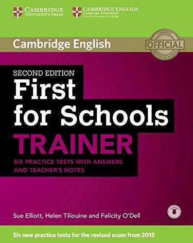 9781107446052: First for Schools Trainer Six Practice Tests with Answers [Lingua inglese]
