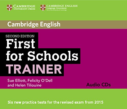 9781107446113: First for Schools Trainer Audio CDs (3) Second Edition (Cambridge English)