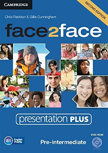 Face2face Pre-intermediate Presentation Plus Dvd-rom (DVD-Video): Chris Redston