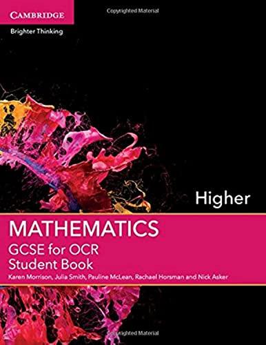 9781107448056: GCSE Mathematics for OCR Higher Student Book (GCSE Mathematics OCR)