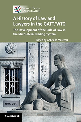 A History of Law and Lawyers in: Gabrielle Marceau (editor),