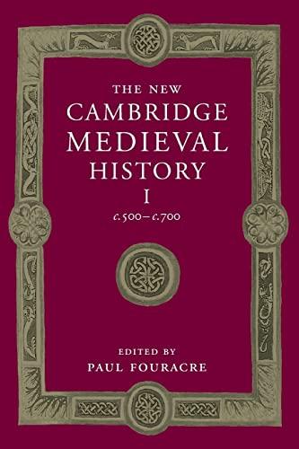 9781107449060: The New Cambridge Medieval History: Volume 1, c.500-c.700