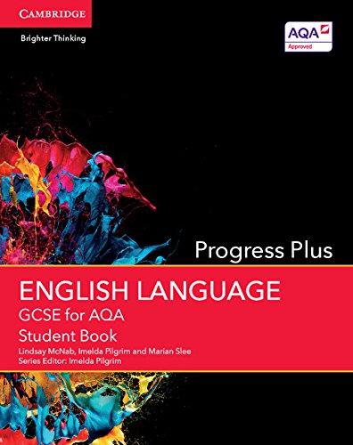 9781107452978: GCSE English Language for AQA Progress Plus Student Book (GCSE English Language AQA)