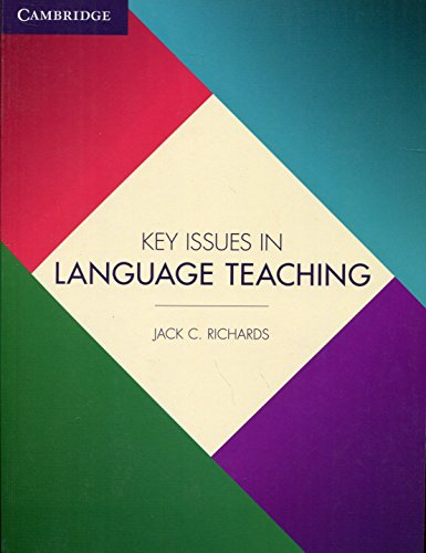 9781107456105: Key Issues in Language Teaching