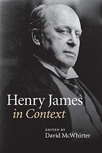 9781107456853: Henry James in Context (Literature in Context)
