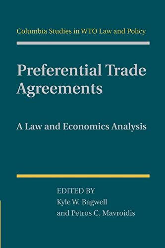 9781107459359: Preferential Trade Agreements: A Law and Economics Analysis