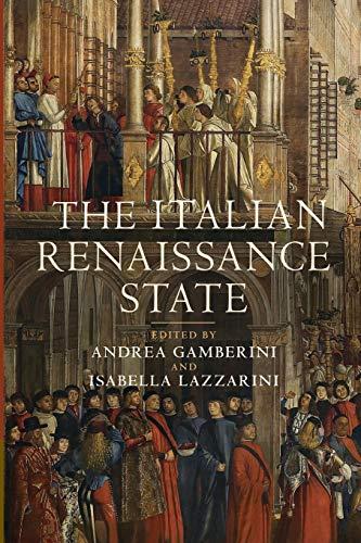 9781107460249: The Italian Renaissance State