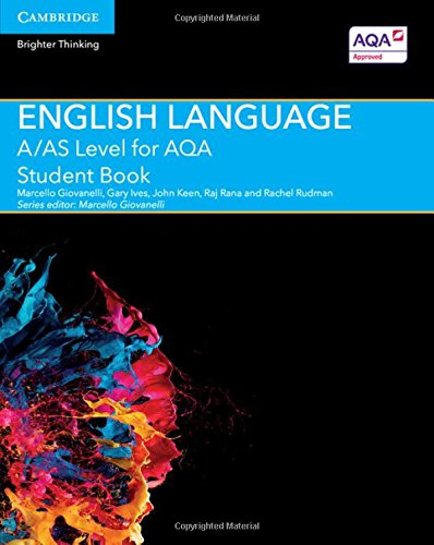 9781107465626: A/AS Level English Language for AQA Student Book (A Level (AS) English Language AQA)