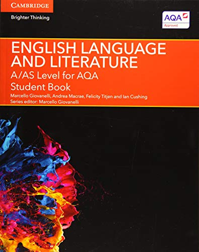 9781107465664: A/AS Level English Language and Literature for AQA Student Book (A Level (AS) English Language and Literature AQA)
