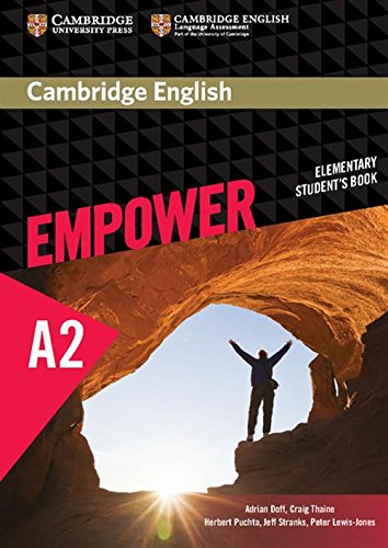 Cambridge English Empower Elementary Student's Book (Paperback): Adrian Doff