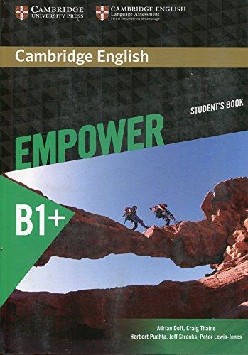 Cambridge English Empower Intermediate Student's Book (Paperback): Adrian Doff