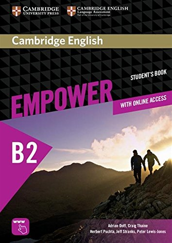 9781107468757: Cambridge English Empower Upper Intermediate Student's Book with Online Assessment and Practice, and Online Workbook [Lingua inglese]