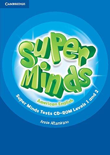 9781107471214: Super Minds American English Levels 1-2 Tests CD-ROM
