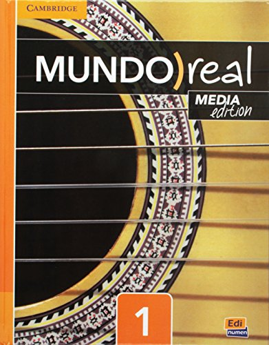 Mundo Real Media Edition Level 1 Student's Book plus Multi-Year ELEteca Access (Spanish ...