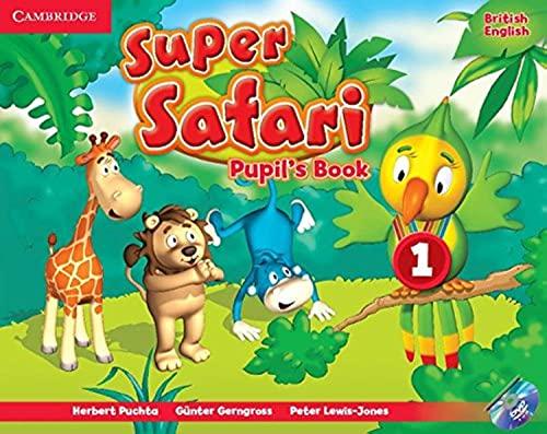 9781107476677: Super Safari Level 1 Pupil's Book with DVD-ROM (Super Minds)