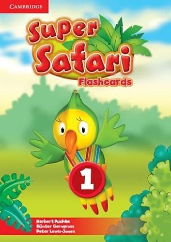 9781107476790: Super Safari Level 1 Flashcards (Pack of 40)