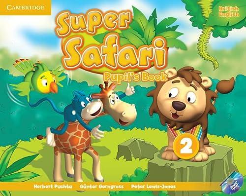 Super Safari Level 2 Pupil's Book with DVD-ROM: Puchta, Herbert, Gerngross, G�nter, ...