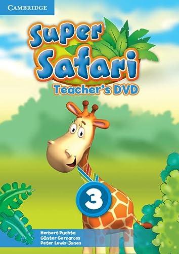 9781107477285: Super Safari Level 3 Teacher's DVD