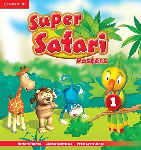 9781107477292: Super Safari Level 1 Posters (10) (Super Minds) - 9781107477292