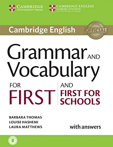 9781107481060: Cambridge grammar for first certificate. With answers. Con CD. Per le Scuole superiori: Grammar and Vocabulary for First and First for Schools Book with Answers and Audio (Cambridge Grammar for Exams)