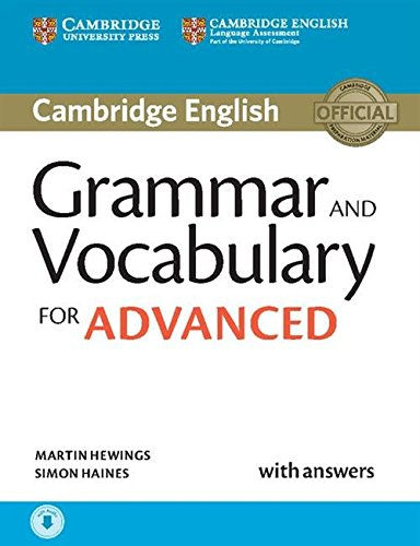 9781107481114: Grammar and Vocabulary for Advanced Book with Answers and Audio: Self-Study Grammar Reference and Practice