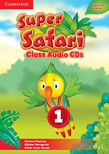 Super Safari American English Level 1 Class Audio CDs (2) (Compact Disc): Herbert Puchta