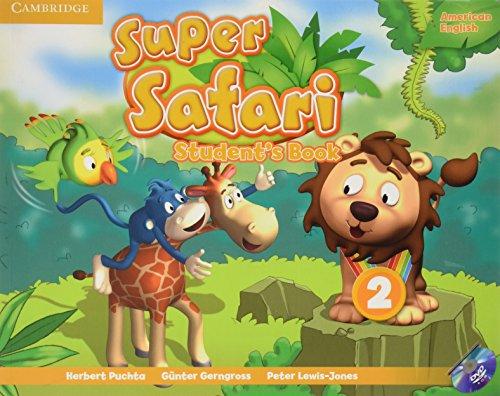 9781107481909: Super Safari American English Level 2 Student's Book with DVD-ROM