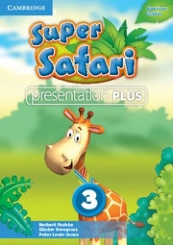 Super Safari American English Level 3 Presentation Plus DVD-ROM: Herbert Puchta
