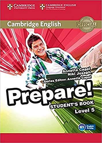 9781107482340: Cambridge English Prepare! Level 5 Student's Book