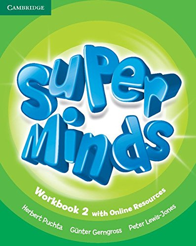 9781107482975: Super Minds Level 2 Workbook with Online Resources-