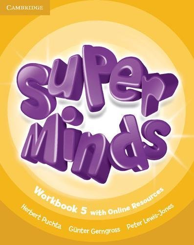 9781107483040: Super Minds Level 5 Workbook with Online Resources