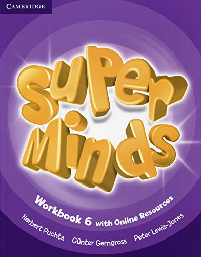 9781107483057: Super Minds Level 6 Workbook with Online Resources