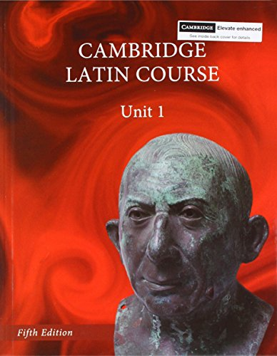 North American Cambridge Latin Course Unit 1 Student's Books (Hardback) with 1 Year Elevate ...