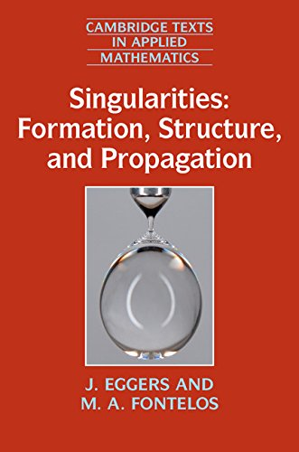 9781107485495: Singularities: Formation, Structure, and Propagation (Cambridge Texts in Applied Mathematics)