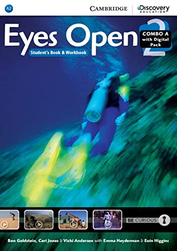 Eyes Open Level 2 Combo A with Online Workbook and Online Practice (Mixed media product): Ben ...