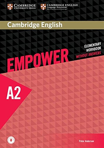 9781107488748: Cambridge English Empower Elementary Workbook without Answers with Downloadable Audio