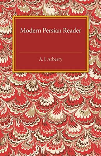Modern Persian Reader: Arberry, A. J.